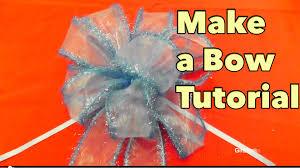 How To Make A Gift Basket Diy Make A Bow Tutorial Giftbasketappeal Youtube