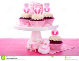 its a baby shower cupcakes stock photo image 57045576