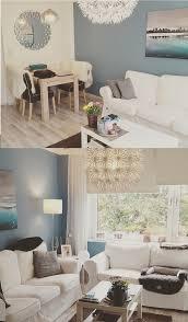 Design Spiegel Wohnzimmer Interior Wohnen Karibik Blaues Wohnzimmer Mit Ikea Möbeln