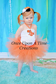 Girls Size 5 Halloween Costumes Finding Nemo Inspired Tutu Dress Girls Size Onceuponatimetutus