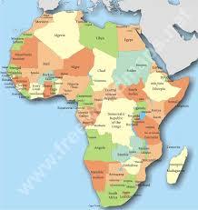 africa map quiz capitals mapsingen africa map