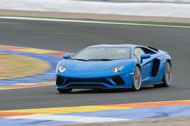 lamborghini aventador blue 2018 lamborghini aventador s first drive review