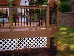deck ideas for a small backyard st louis decks screened