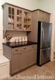 Paint Amp Glaze Kitchen Cabinets by Best 25 Taupe Kitchen Cabinets Ideas On Pinterest Beautiful