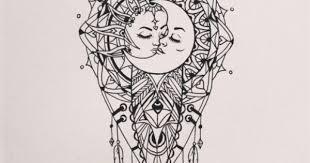 kendallino just pinned to tattoos board sun and moon mandala