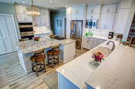 kitchen cabinets with white quartz countertops tim and marguerite cabinet depot