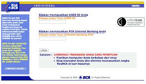 Klikbca Individual Permasalahan Akun Banking Bca Diblokir Karena Antivirus
