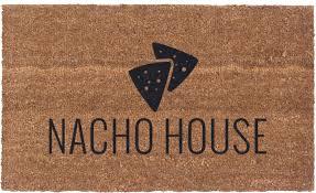 halloween doormat vinyl back doormat nacho house coir doormat funny doormat
