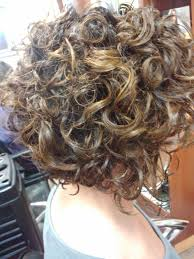 stacked in back brown curly hair pics 41 best curly cuts images on pinterest
