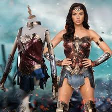 Wonder Woman Costume Aliexpress Com Buy 2017 Movie Wonder Woman Gal Gadot Costume