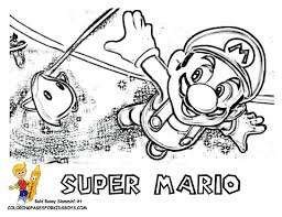 9 amazing super mario coloring pages images