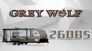 2018 forest river grey wolf 26dbh travel trailer lakeshore rv find