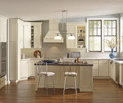 white shaker kitchen cabinets wood floors soft white transitional shaker kitchen kemper