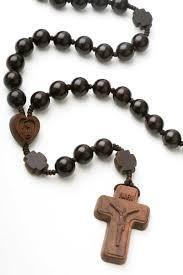 jujube wood rosary beads on cord 20
