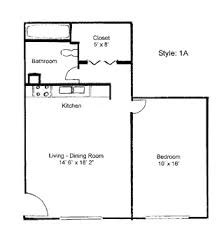 simple one bedroom house plans mesmerizing one bedroom apartment open floor plans simple 1