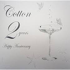 second year wedding anniversary 2nd year wedding anniversary gifts co uk