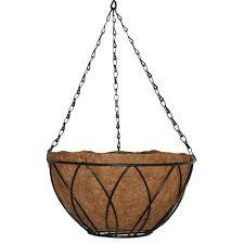 hanging planter basket baskets pots planters the home depot