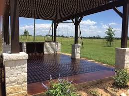 Outdoor Concrete Patio Designs Stained Concrete Patio Images