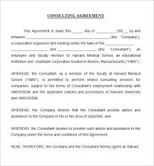 standard consulting agreement 2 marketing consulting and