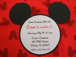 micky mouse invitations free printable invitation design