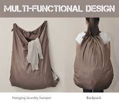 cute laundry hamper amazon com laundry backpack 2 strong shoulder straps wash
