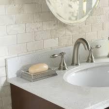 shop anatolia tile chiaro tumbled marble natural stone mosaic
