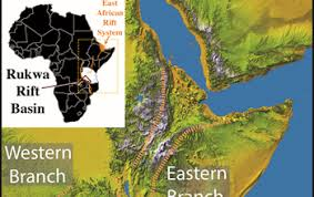 africa map great rift valley multimedia gallery map of the great rift valley in east africa