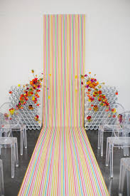 wedding backdrop modern rainbow modern wedding backdrop