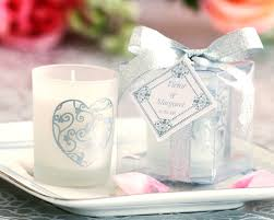 candles and favors wedding favors candle favors