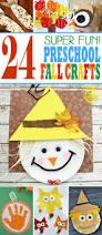 24 super fun preschool fall crafts kids activities