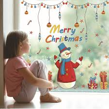 Christmas Window Decorations For Sale by Popular Christmas Window Decorations Sale Buy Cheap Christmas