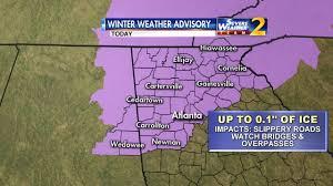 Bartow County Tax Maps Atlanta Weather Schools Closed Across Metro Ahead Of Inclement