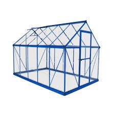 Palram Hybrid Greenhouse Palram Harmony 6 X 10 Ft Hobby Greenhouse Hayneedle