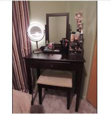 vanity table set mirror stool bedroom furniture dressing tables