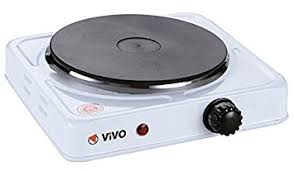 plate table top vivo portable electric plate hob kitchen slow cooker table top