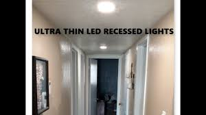 Recessed Lighting Thin Recessed Lighting Youtube