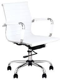 white office chair modern interior white modern desk chair 26 leather computer stool