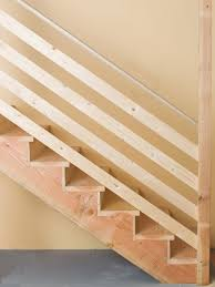 How To Install Stair Banister How To Install Basement Stairs Basement Stair Basements And Bricks