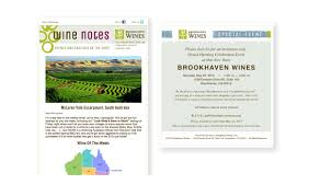 Invitation Card For New Shop Opening Brookhaven Wines Branding And Web Meow Design