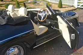 convertible porsche 356 porsche 356 speedster convertible black with cream leather
