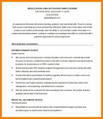 Sample Resume For English Teachers by 19 Sample Cover Letter For Teacher With No Experience Sample