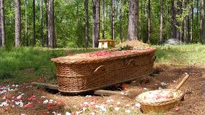wicker casket monks ministries respect ecology the deceased
