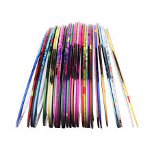 nail art striping tape line 30pcs u2013 best nail stuff