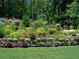 backyard hillside landscape ideas designs ideas and decor