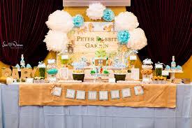 peter rabbit baby shower dessert table u2013 cw distinctive designs