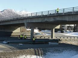 modular unit process underway to recover costs from damaging bridge strike