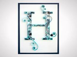 Monogram Letters Home Decor 50 Beautiful Diy Wall Art Ideas For Your Home