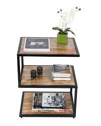 s shaped desk modern dakota s shape side table solid mango wood natural shade