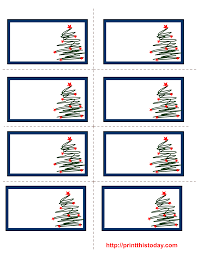 7 images of free printable christmas labels unit christmas