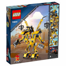halloween legos lego movie 70814 emmet u0027s construct o mech building set